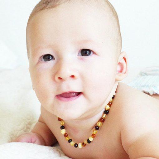 collar ambar bebe