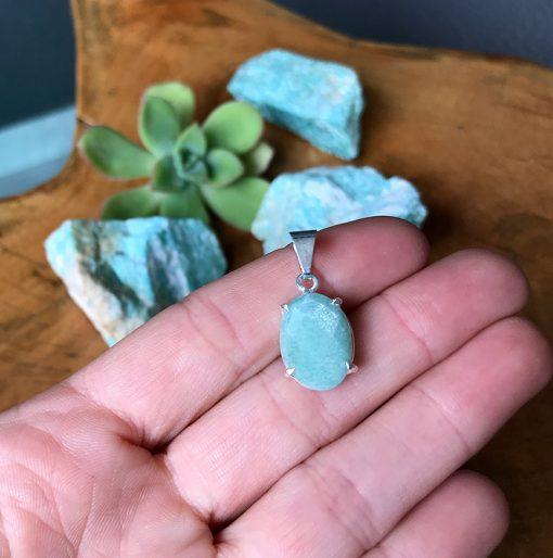 piamaria Amazonita el poder de las piedras piedras que sanan